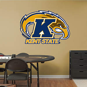 Kent State Golden Flashes Logo Fathead Wall Decal